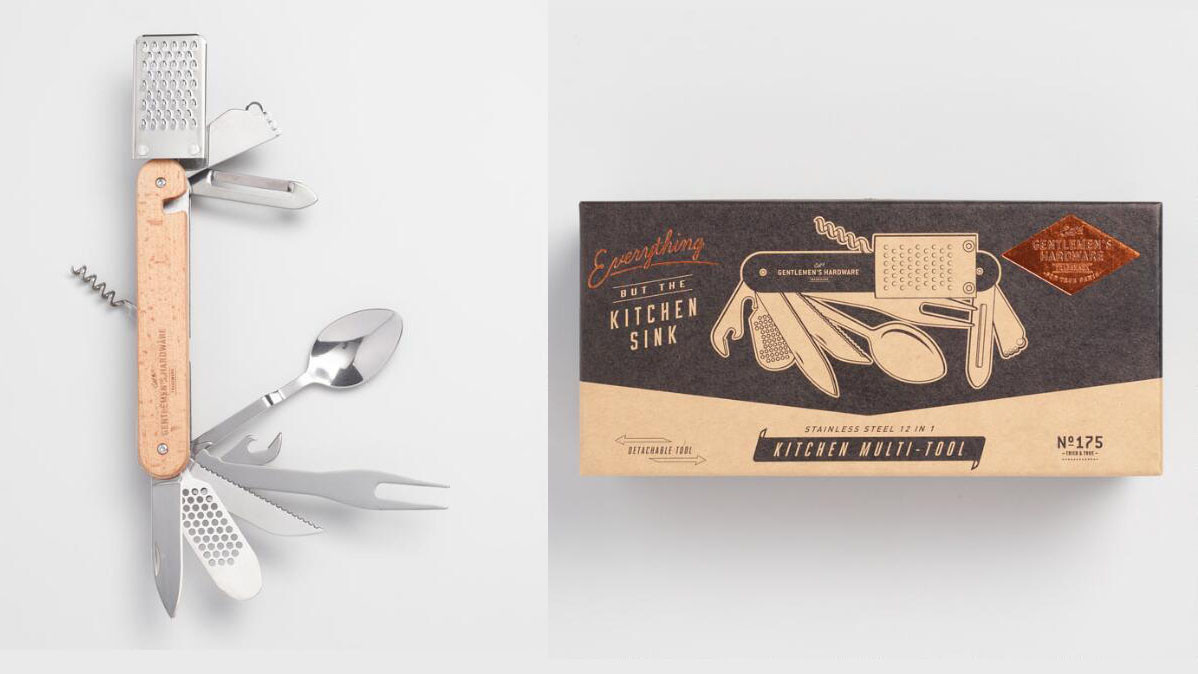 Convenient and Cool 12 In One Kitchen Multi-Tool