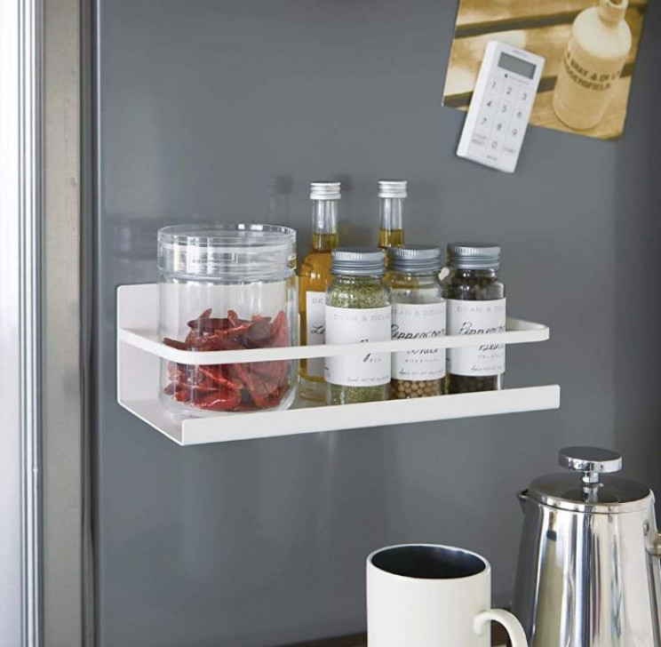 Magnetic Spice Rack That Sticks To The Side Of Your Fridge