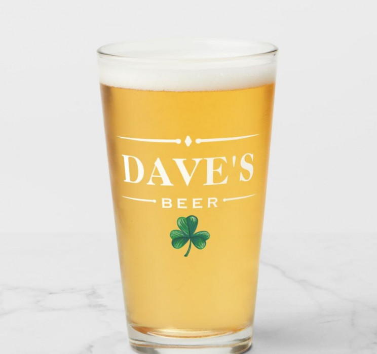 10 Irish Beer Glasses To Make You Feel Lucky All Year