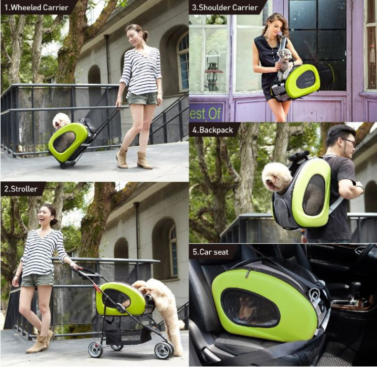 Multifunctional All In One Pet Carrier For Dogs Or Cats