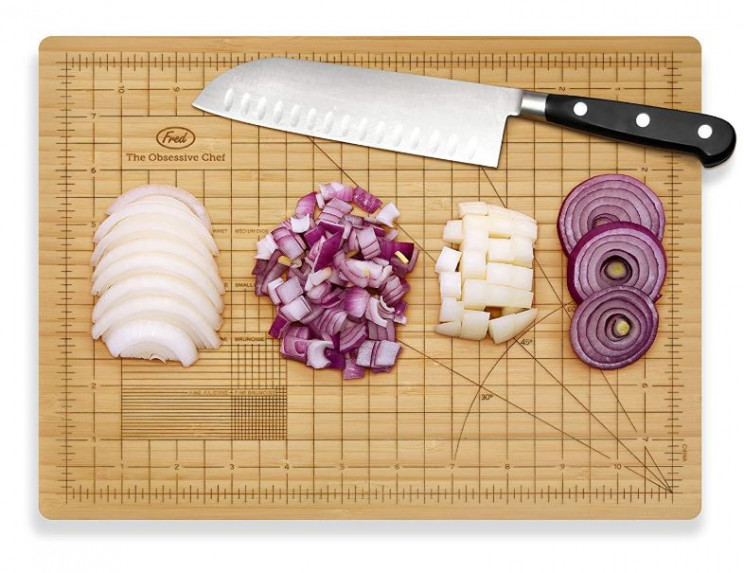 Obsessive Chef Cutting Board For Perfectionists