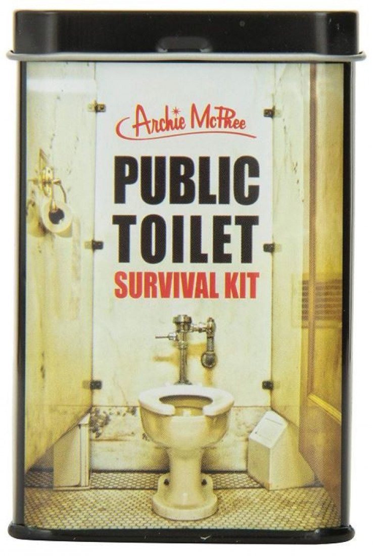 Public Toilet Survival Kit To Deal With Cleanliness Issues
