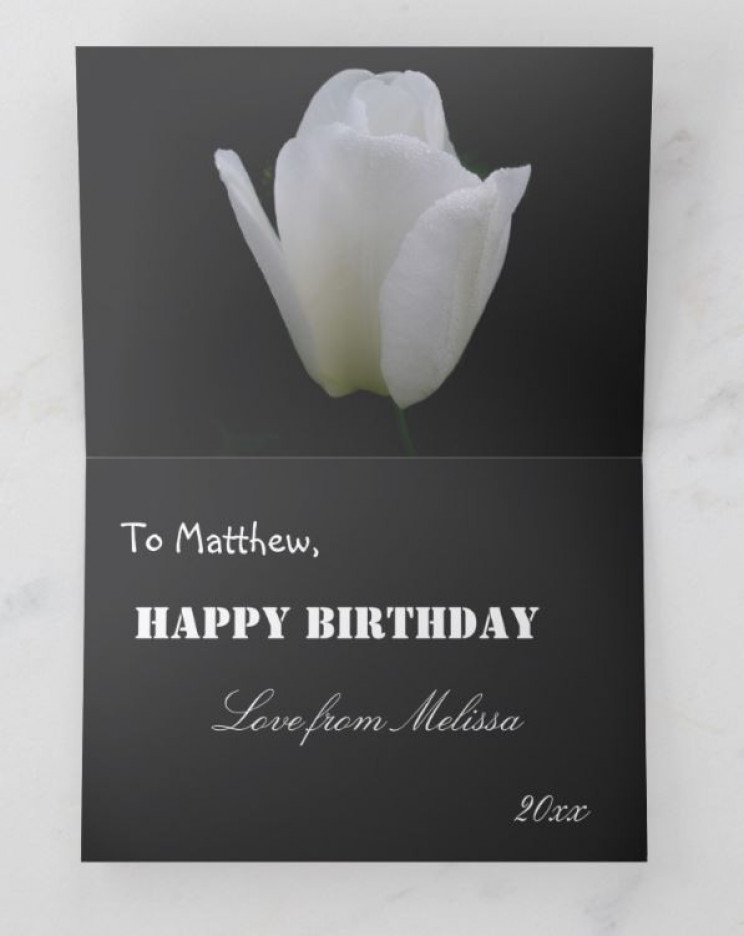 Beautiful Sentimental Birthday Card For A Sibling