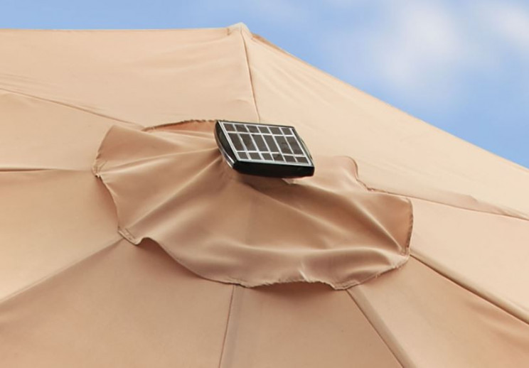 Solar-Powered Led Light UV Resistant Umbrella
