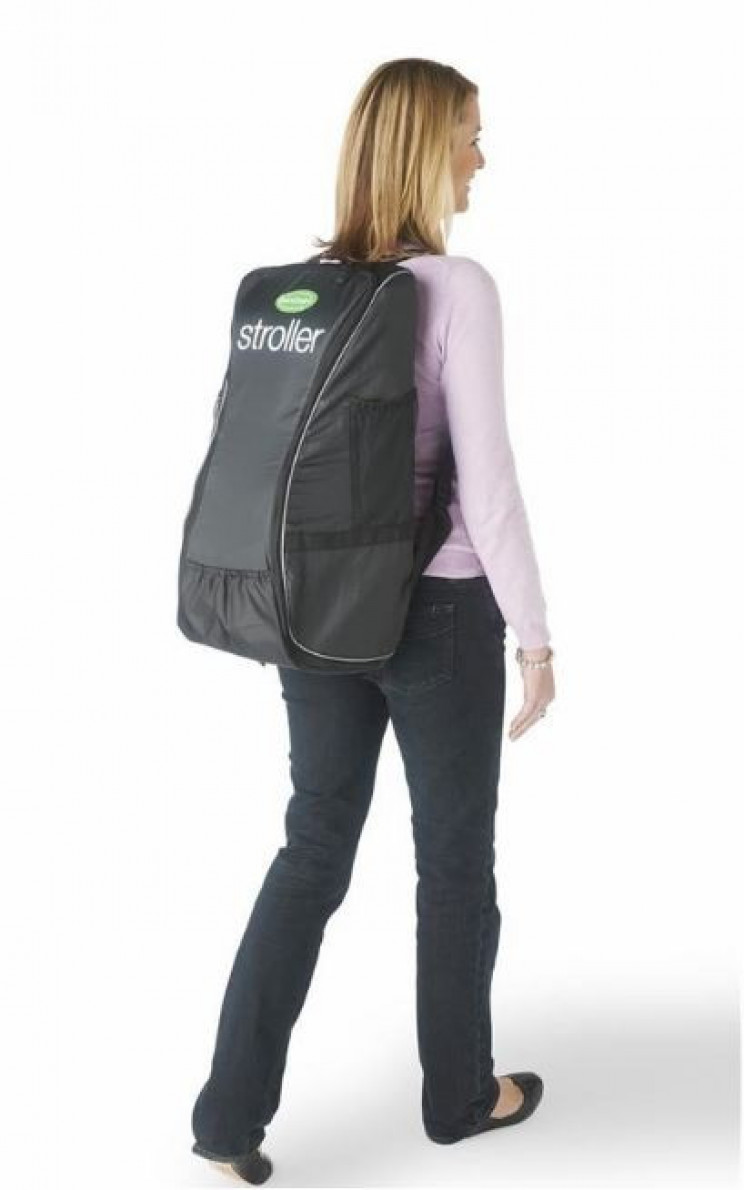 Handy Portable Stroller That Transforms Into A Backpack