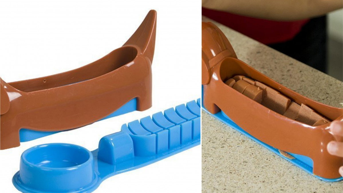 This Hot Dog Slicer Turns Lunch into a Fun Event for Kids!