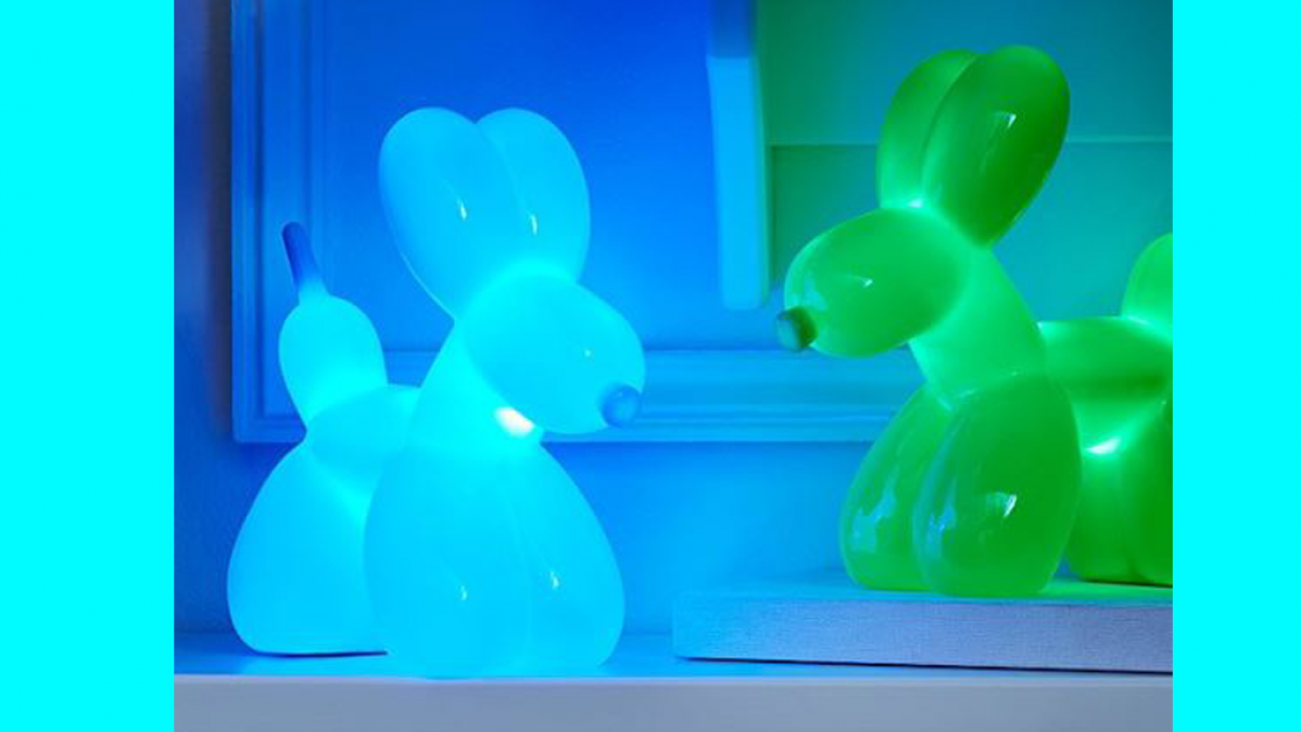 Cheerful Balloon Dog Touch Nightlight