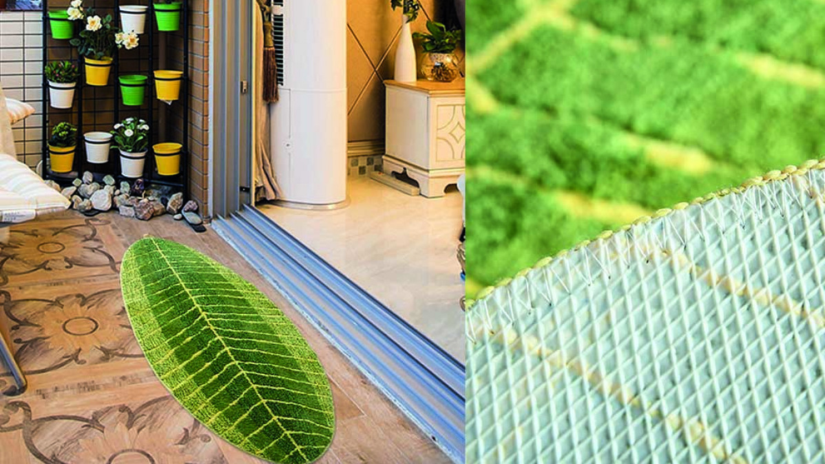 Banana Leaf Door Mat