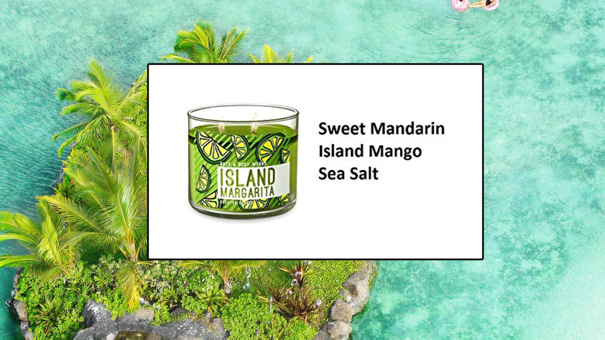 Unwind With The Island Margarita Candle