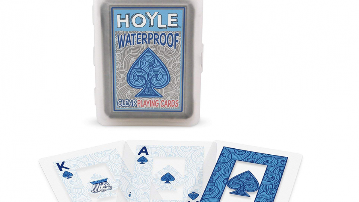 Clear Plastic Waterproof Playing Cards