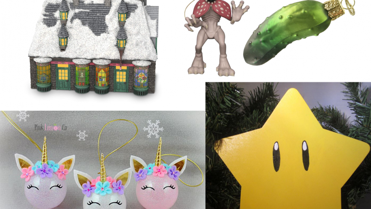 11 Awesome Christmas Decorations For Geeks