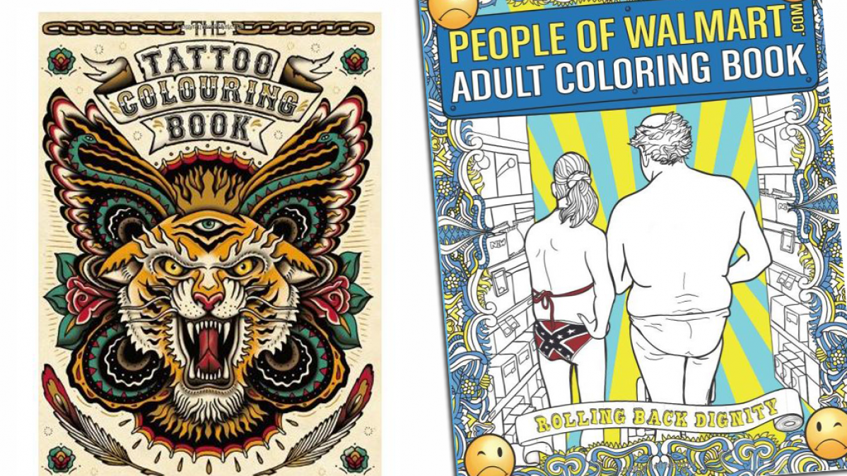 10 Engaging and Amusing Adult Coloring Books