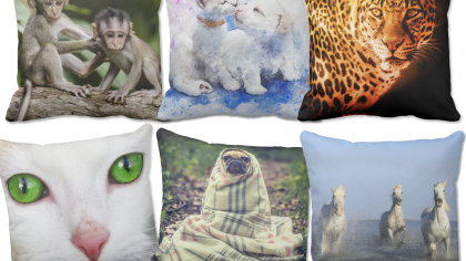 15 Beautiful Animal Cushions For The Home