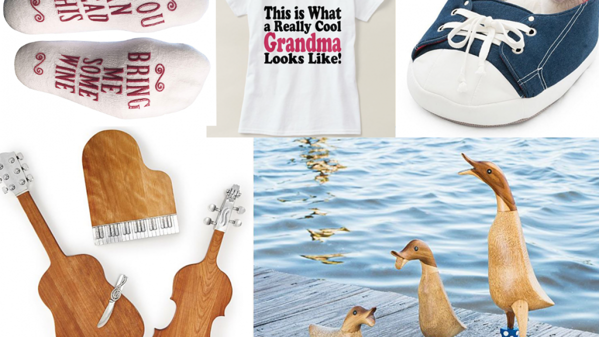 10 Gifts For Extremely Cool Grandmothers