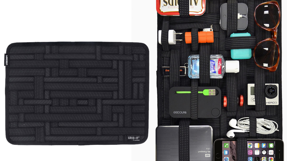 Organize Daily Essentials With the Cocoon Grid-It