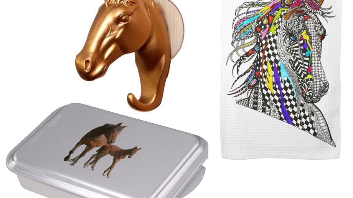 Horse Kitchen Accessories For Country Kitchens