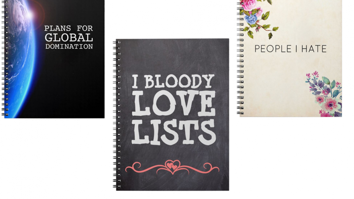 9 Very Funny Notebooks To Make You Smile