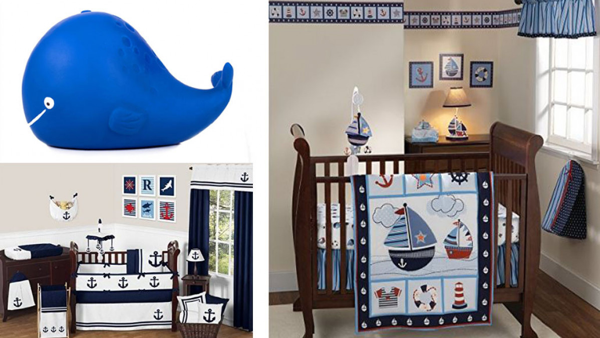 50 Nautical Nursery Decor Theme Ideas
