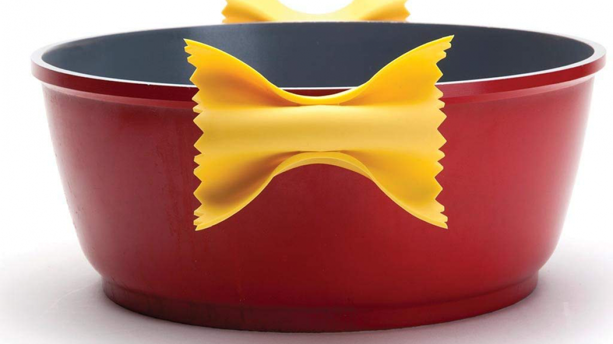 Cool Pot Holder That Looks Like Pasta