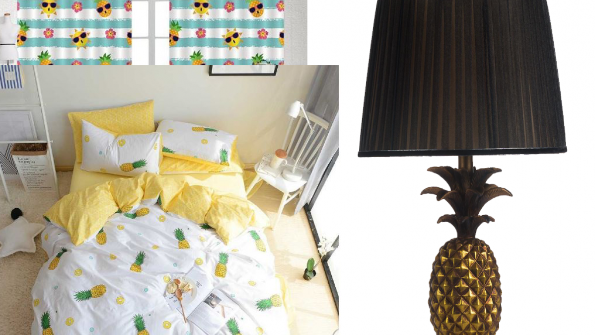 Fun Pineapple Themed Home Decor Ideas