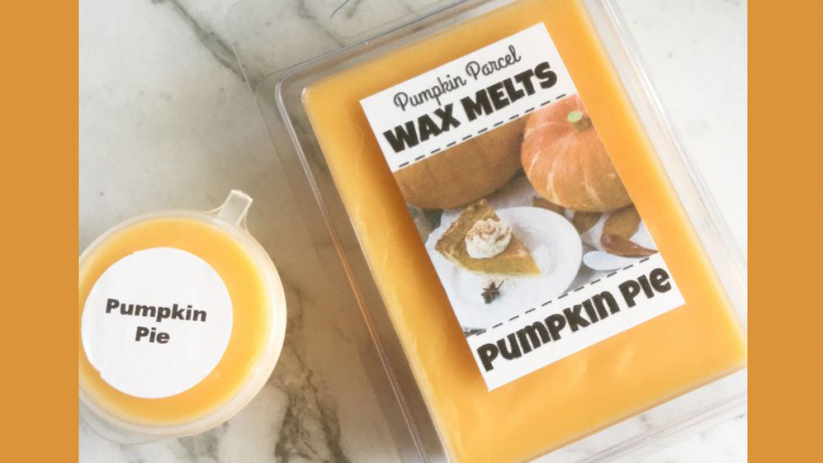 Pumpkin Pie Wax Melt For Autumn Evenings