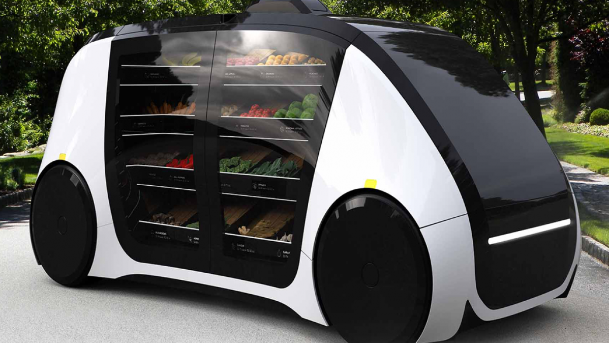 Cool Robomart Grocery Store Comes to You