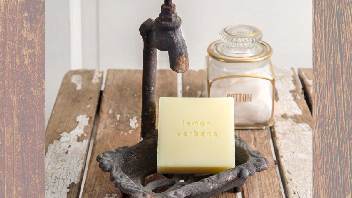Cast Iron Industrial Look Soap Holder