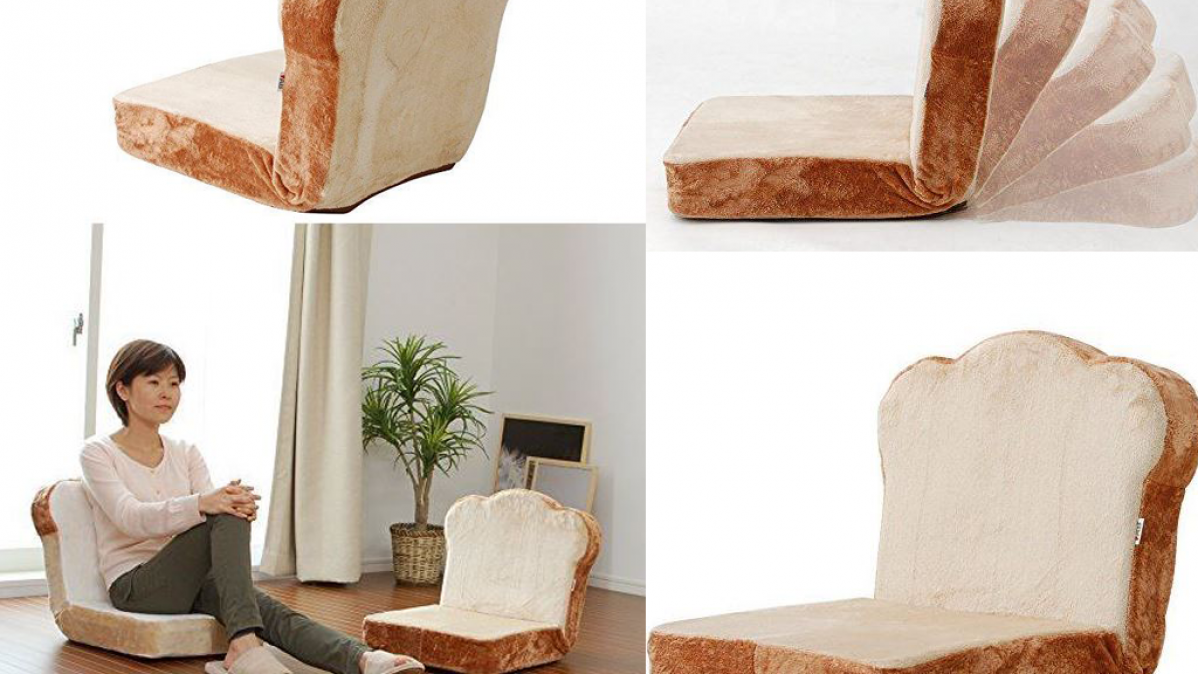 Adjustable Chair That Looks Like Bread