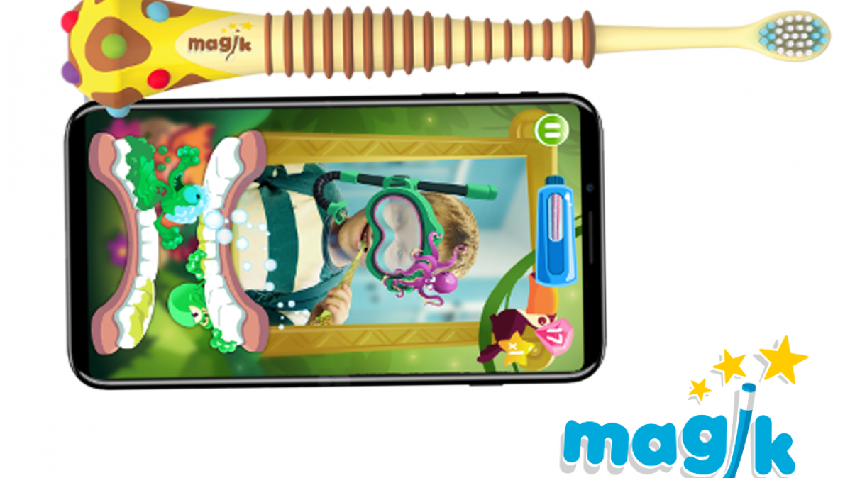 Augmented Reality Magik Smart Kids Toothbrush
