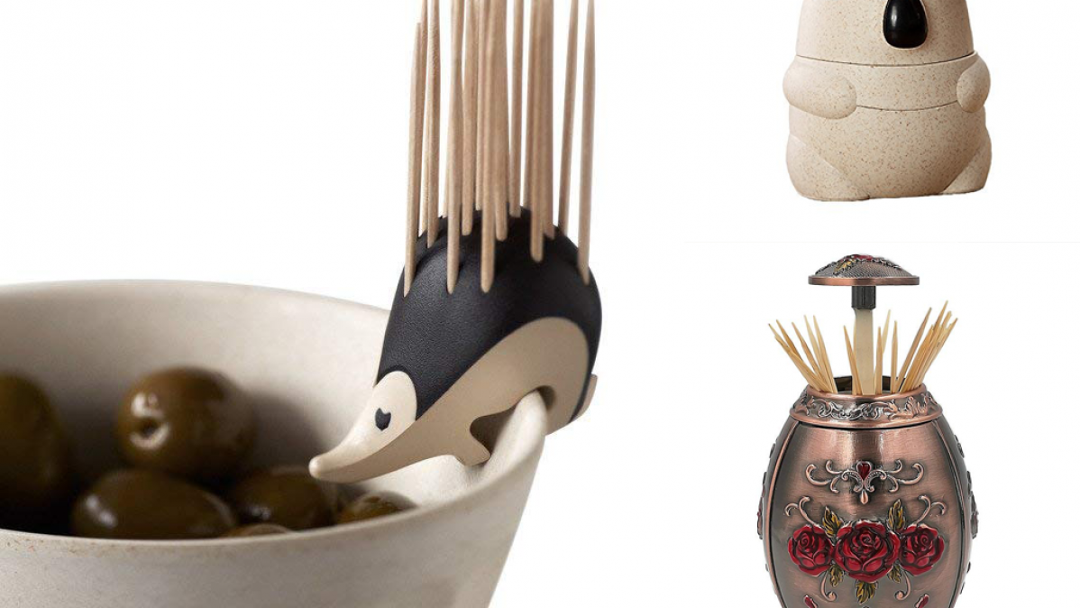 11 Fabulous and Unusual Toothpick Holders