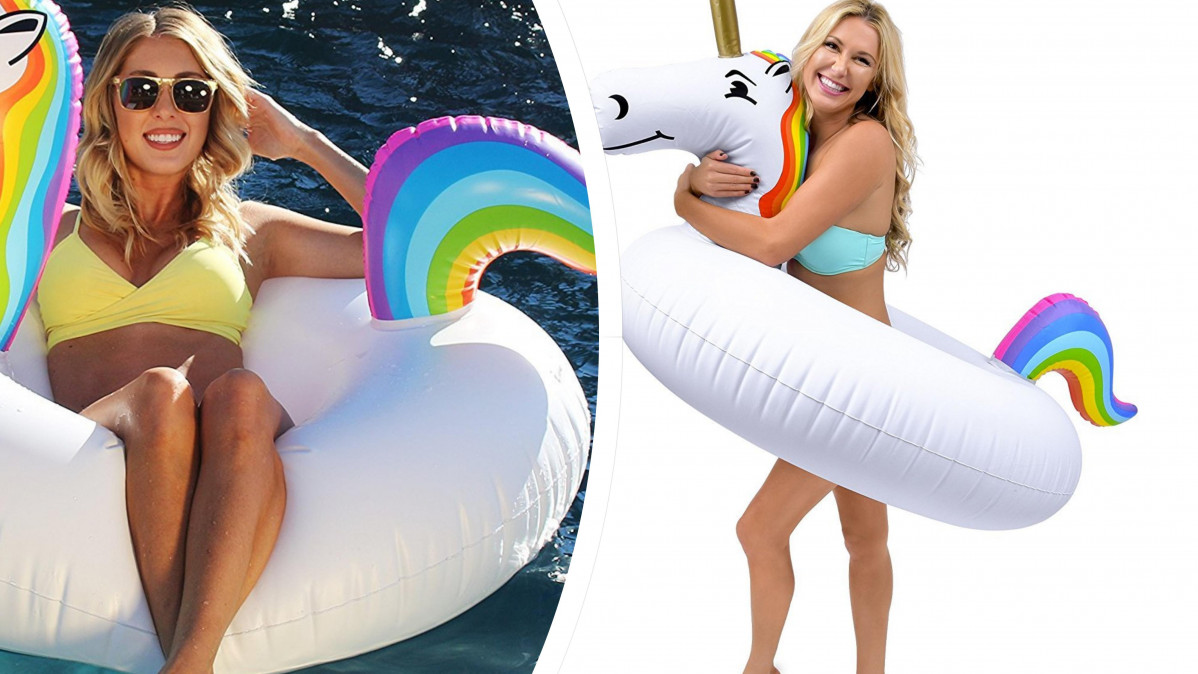 This Unicorn Float Will Let You Have Fun in the Sun