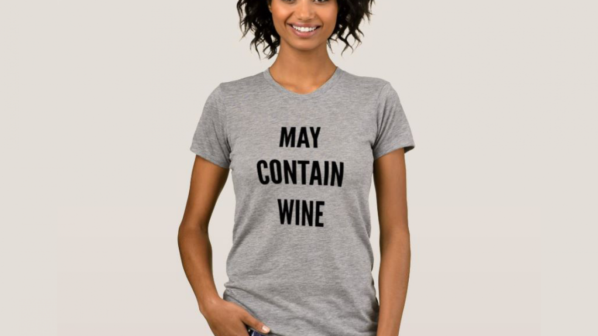 Entertaining May Contain Wine T-Shirt