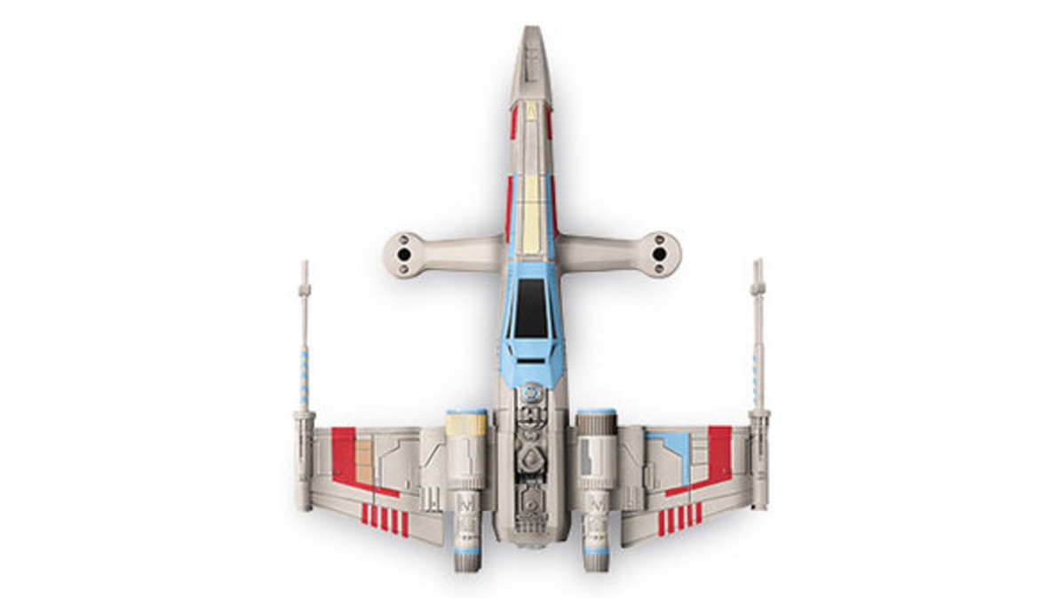 Star Wars Drone top view