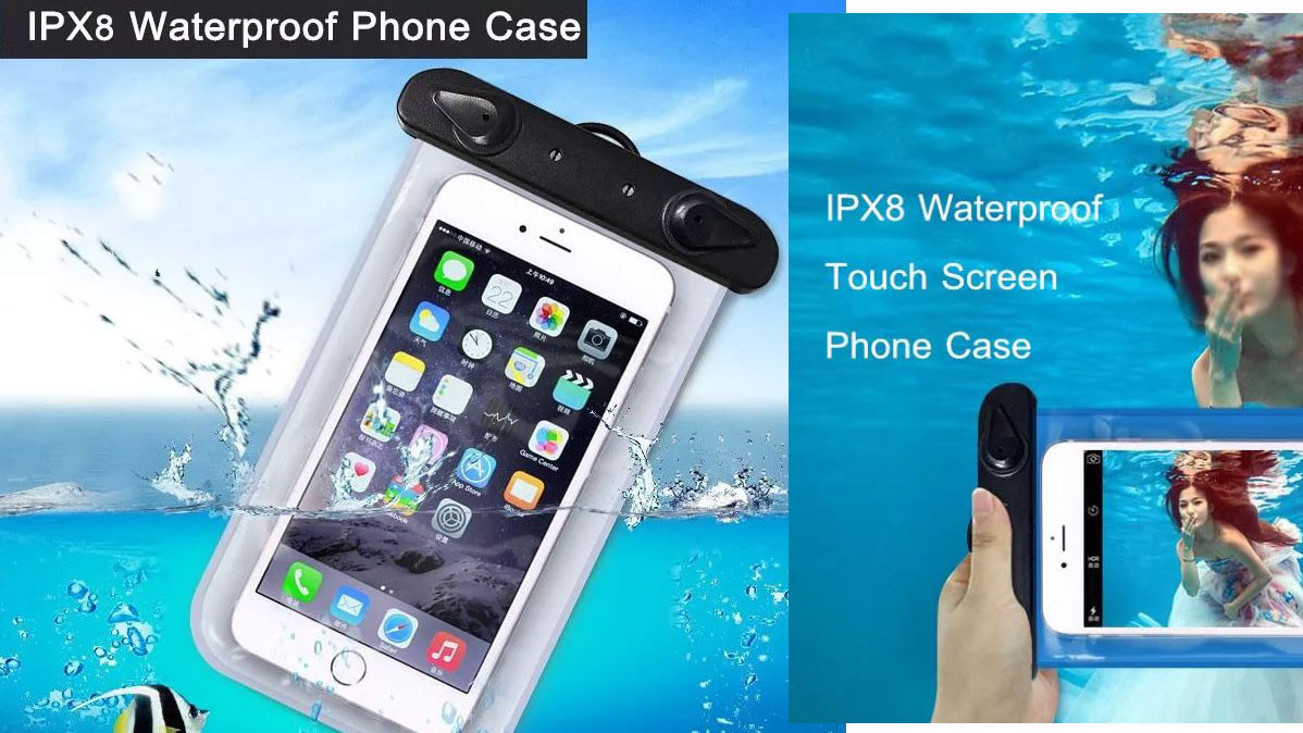 Universal Tough Waterproof Smartphone Case