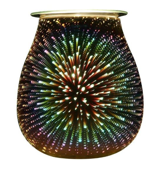 Decorative 3D Effect Electric Oil Burner