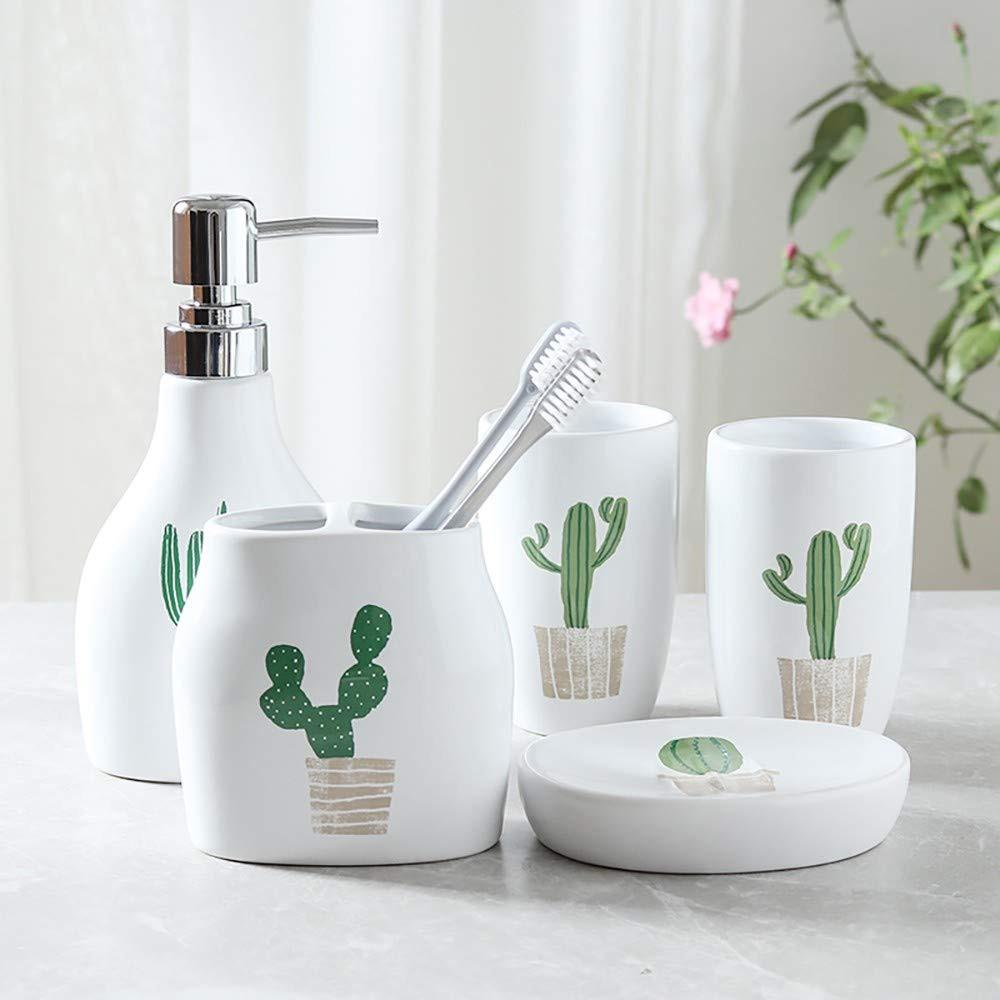 12 Cool And Fresh Cactus Themed Bathroom Decor Ideas