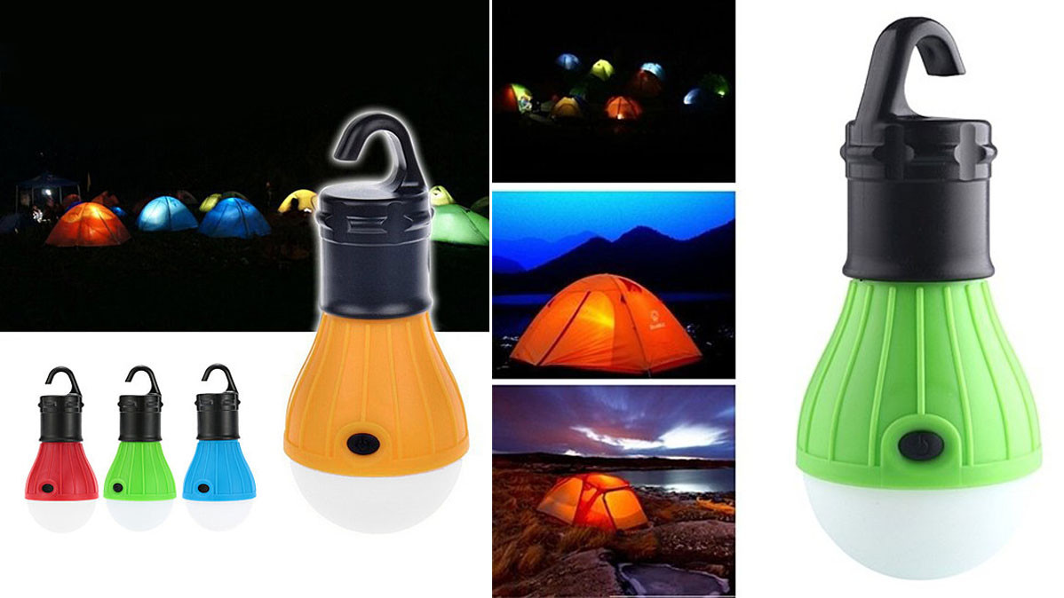 Portable Hook On Tent Light For Camping