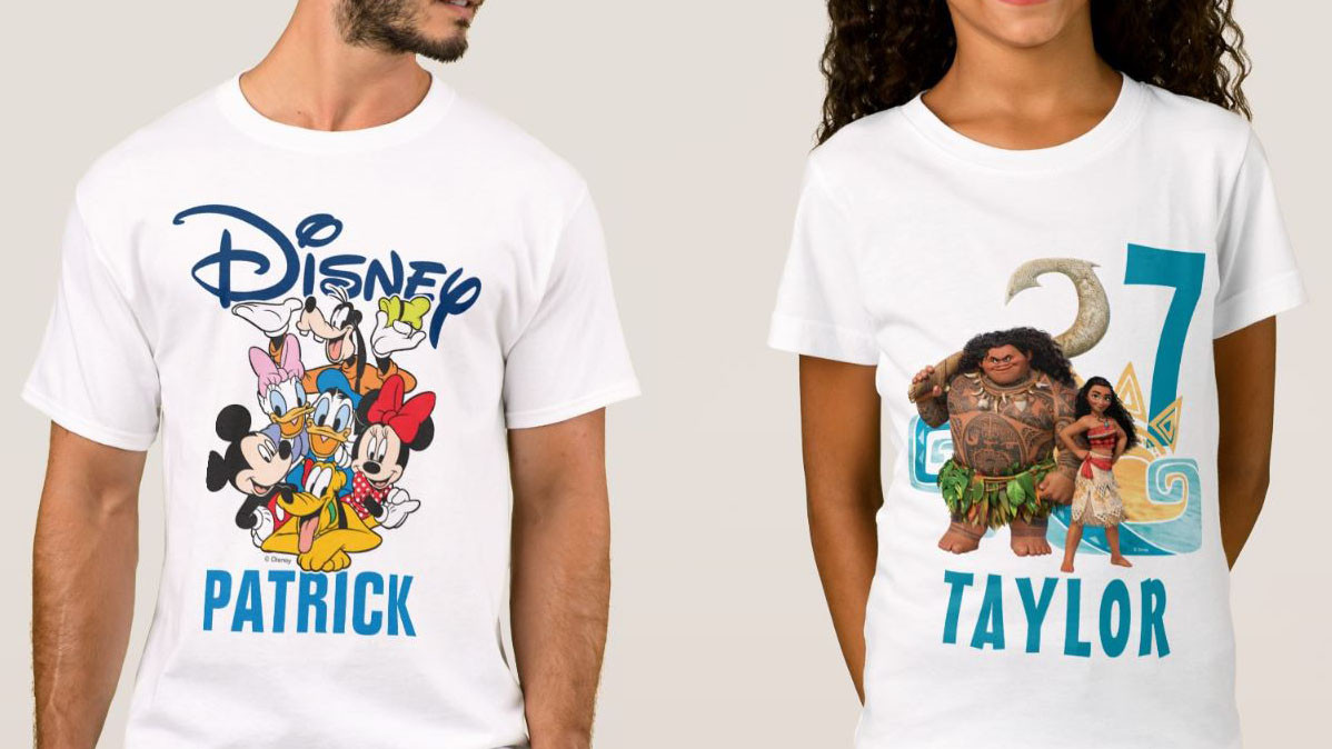 15 Disney T-Shirts For Adults and Children