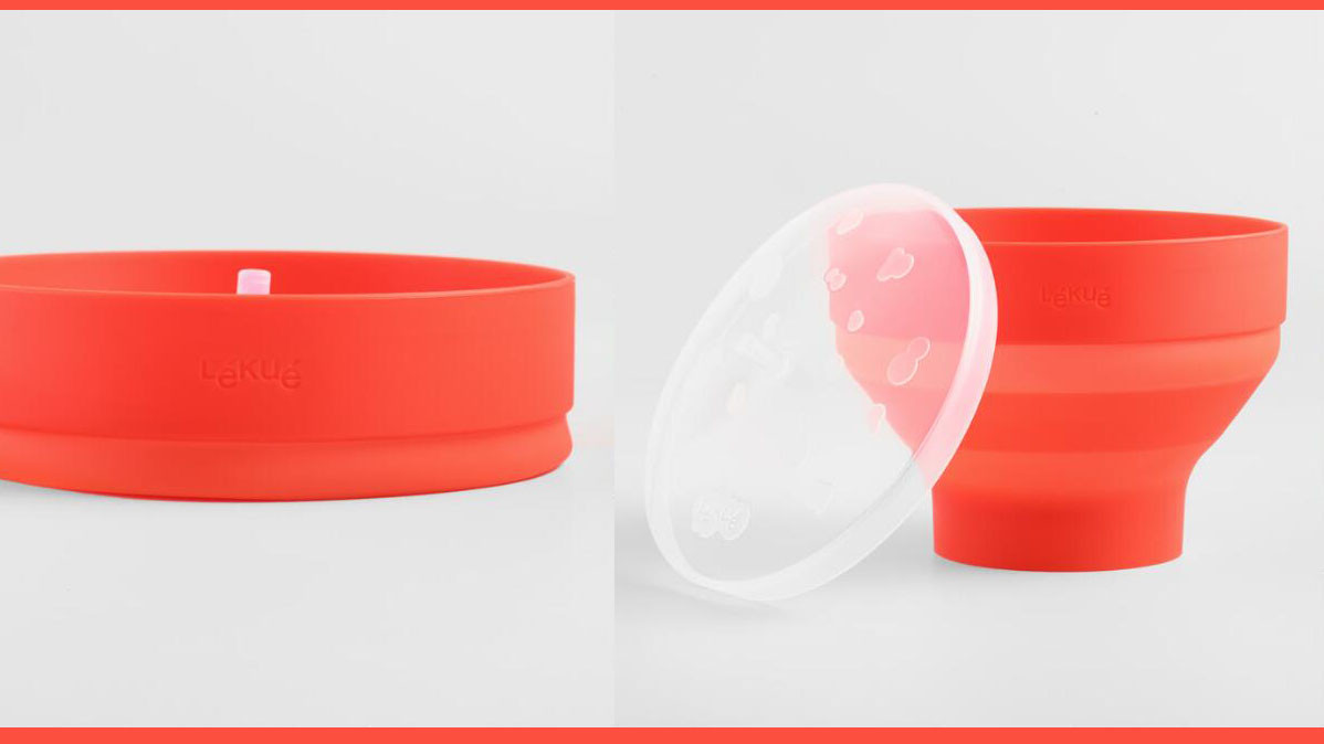 Silicone Collapsible Microwave Popcorn Popper