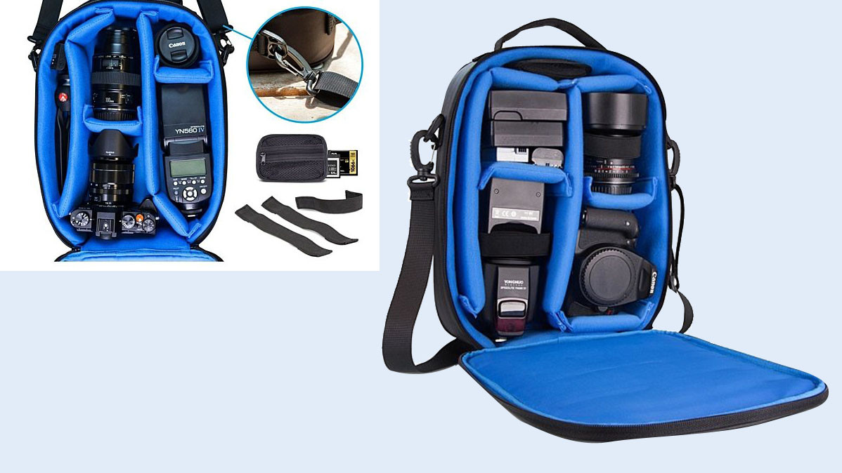 Adjustable Water Resistant Camera Bag