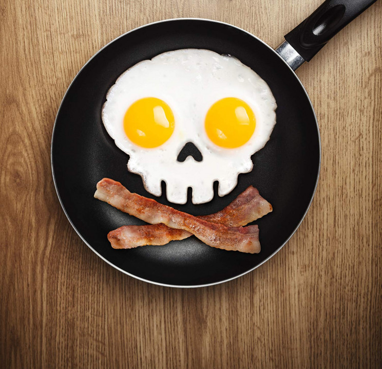 Skull Egg Ring Mold