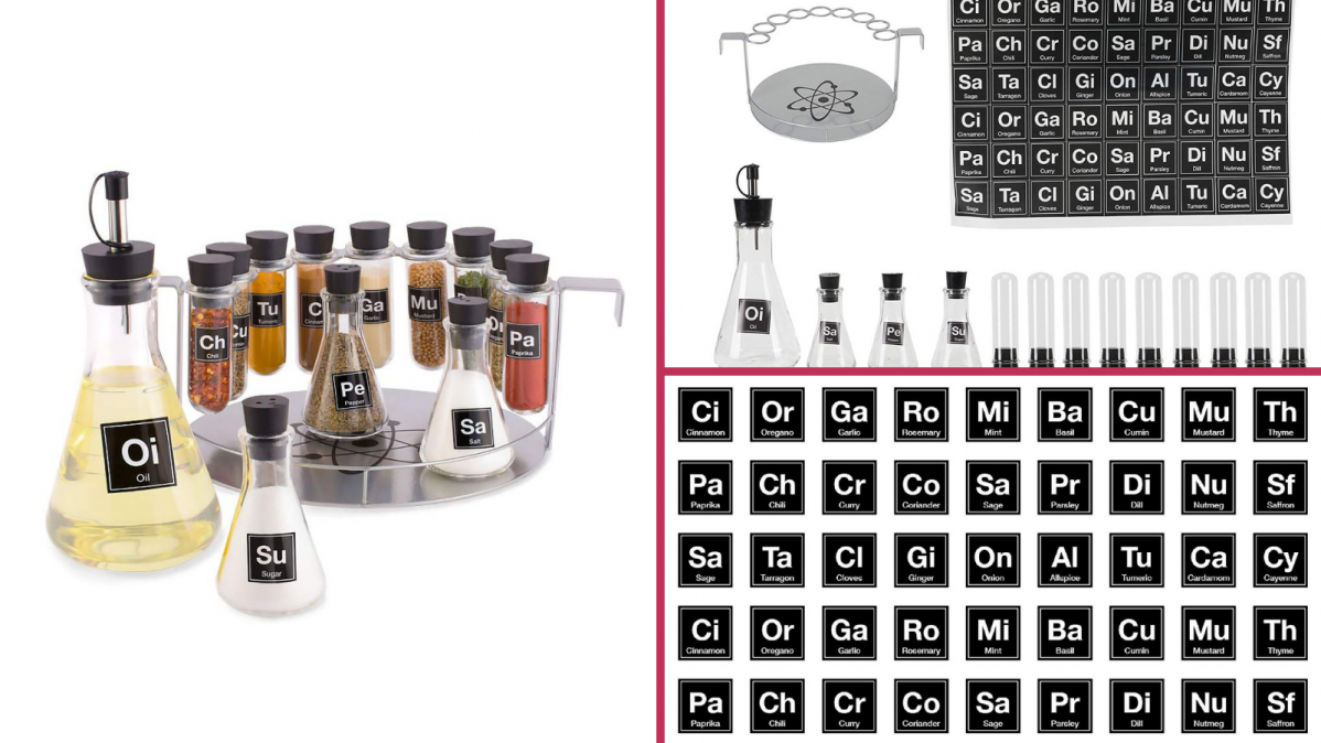 Spice Chemistry Kitchen Spice Set