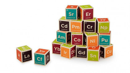 Cool Periodic Table Building Blocks