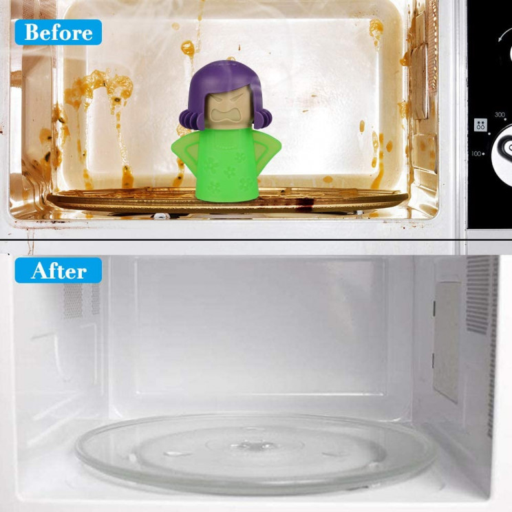 Clean Your Microwave With Just One Angry Mom in the Kitchen