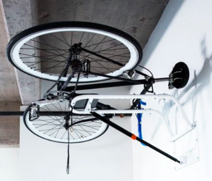 Hang Your Bike on the Wall with This Bike Rack