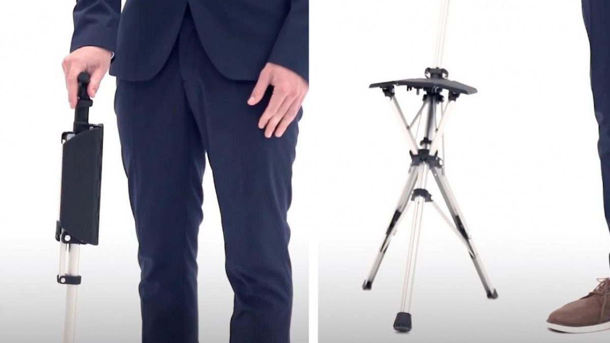 Turn Your Walking Stick into a Chair