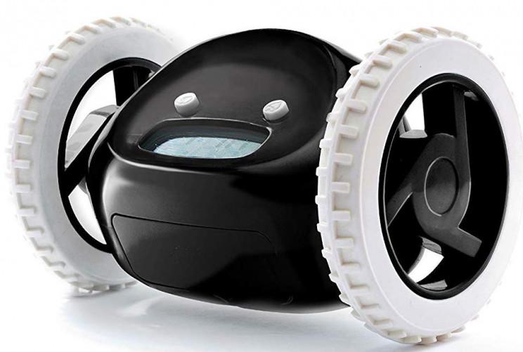 Alarm Clock on Wheels Guaranteed to Wake You in the Morning
