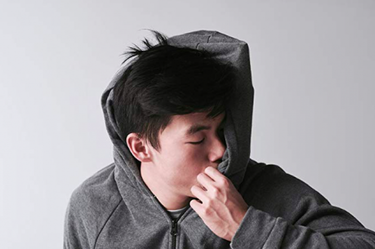 Sleep on the Go with the Inflatable Hoodie