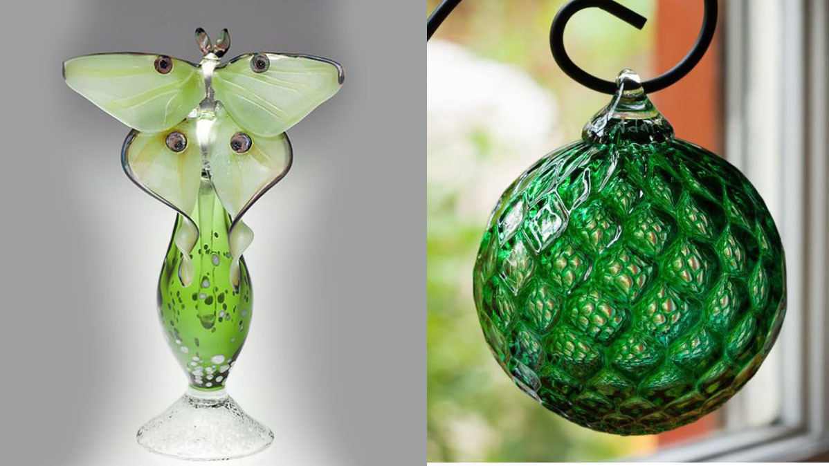 18 Beautiful Things Made From Green Glass