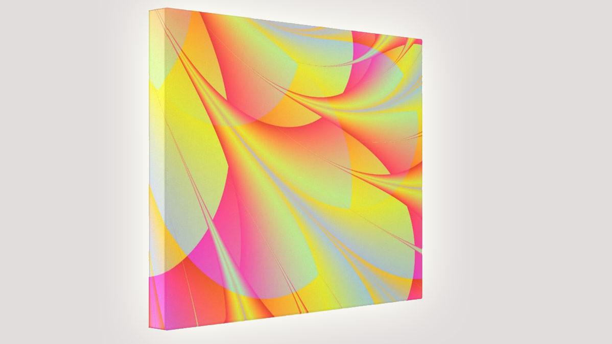 Unique And Bright Digital Art Print